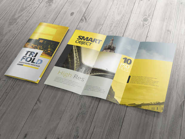 High-Resolution-Trifold-Brochure-Mockup