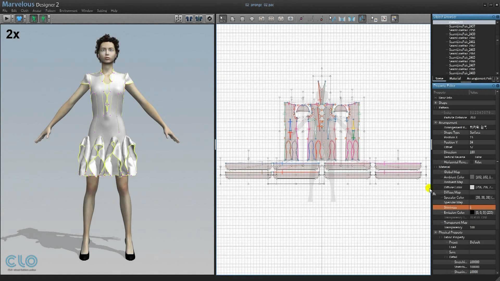 Kursus Desain 3D Clothing Menggunakan Software Komputer 3D Desain Fashion Marvelous Designer Di Jogja 01