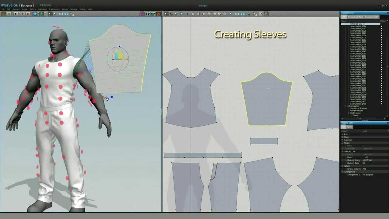 Kursus Desain 3D Clothing Menggunakan Software Komputer 3D Desain Fashion Marvelous Designer Di Jogja 04
