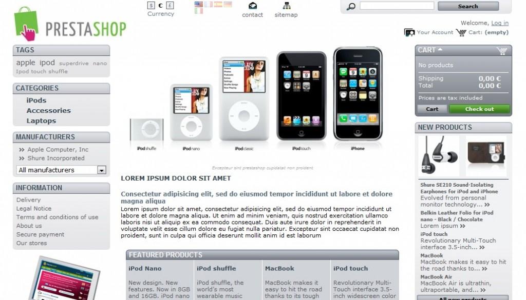 Kursus Komputer Privat Membuat Website Toko Online Dengan Prestashop & Opencart Di Jogja 01