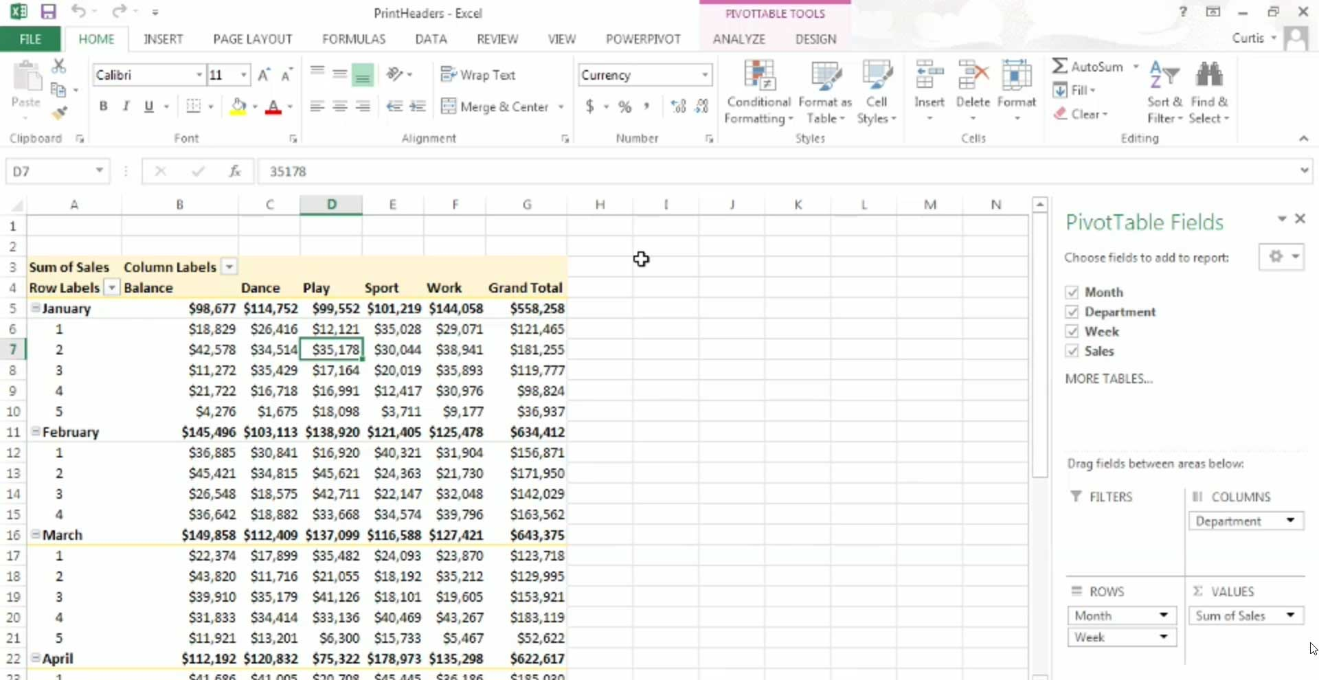 pivot table excel 2013 pdf