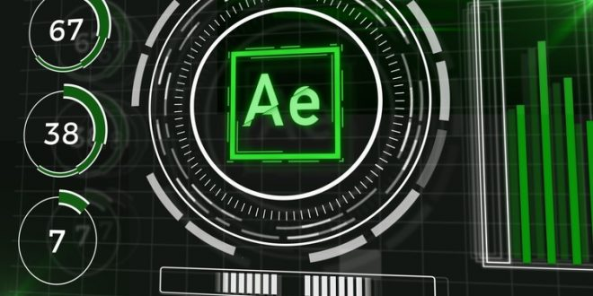 Kursus After Effects | Futuristic HUD Animations After Effects – Motion Graphics