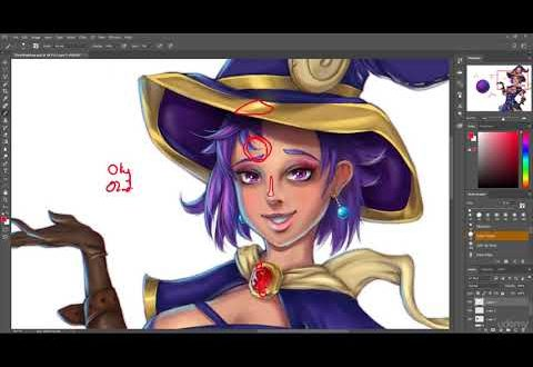 Kursus Character Art | Complete Coloring & Painting