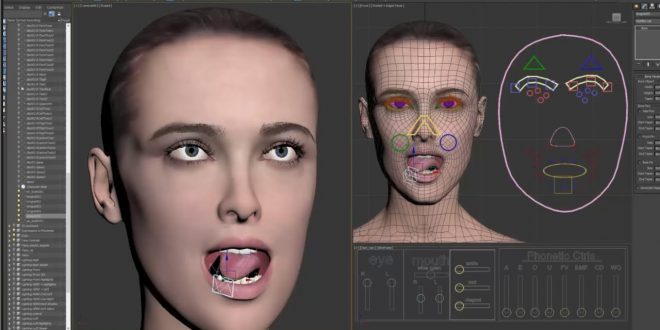 Kursus 3DS Max 2019 | Rigging: Body and Facial in 3Ds Max 2019