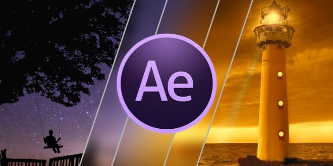 Kursus After Effects | After Effects CC 2018: Design Professional Video Transitions