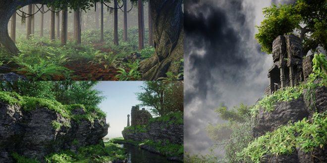 Kursus Blender | Blender 2.79 Membuat Pemandangan Alam