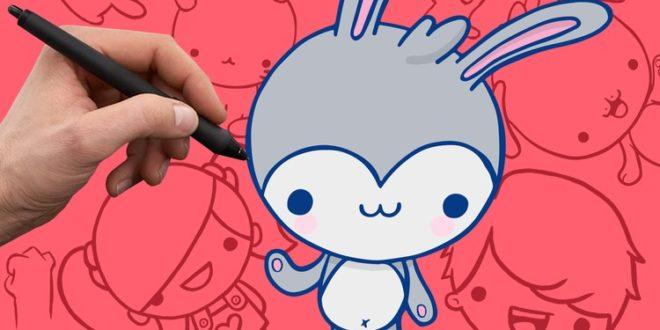 Kursus Menggambar | Bagaimana Menggambar Karakter Kartun Yang Lucu
