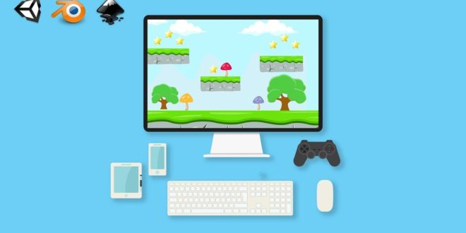 Kursus Membuat Game Menggunakan Unity | Complete Game Design & Development : 20+ 2D & 3D Projects