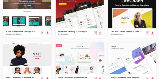 Jual Ratusan Premium Website Template Mempercepat Pekerjaan Anda Dalam Membuat Website