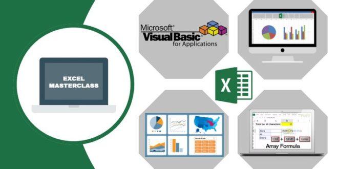 Jasa Pembuatan | Kursus Excel | Microsoft Excel – Complete Excel Course (Excel 2007 – 2019)