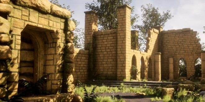 Kursus Blender | Ancient Ruins 3D Game Environment Menggunakan Blender