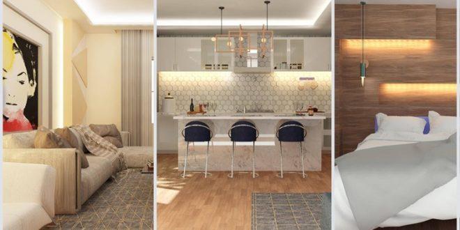 Jasa Desain Interior | Kursus Bimbingan Skripsi Desain Interior Revit | Revit Architecture | Interior Modeling Dan Rendering