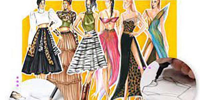 Kursus/Jasa Desain Fashion | Kursus Menggambar Fashion Dari Pemula Hingga Mahir