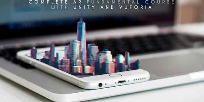Kursus/Jasa Unity AR | Bangun Aplikasi Augmented Reality (AR) Menggunakan Vuforia & Unity
